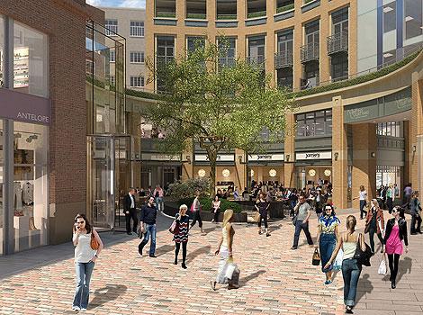 Nace una nueva área comercial en el centro de Londres.