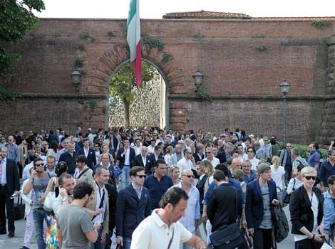 El Pitti Uomo cumplió 40 años, con 1.000 participantes
