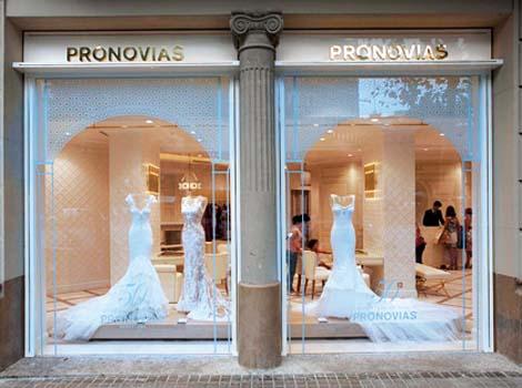 La nueva flagship de Pronovias en Barcelona