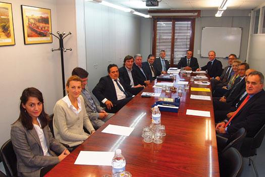 Texfor celebró Junta en La Rioja