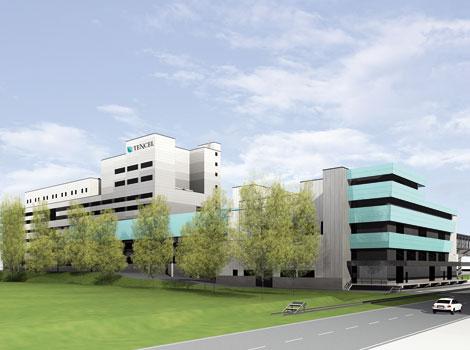 La fábrica de fibras más moderna del mundo se construye en Lenzing